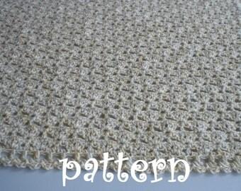Crochet Baby Blanket Pattern. PDF 042.