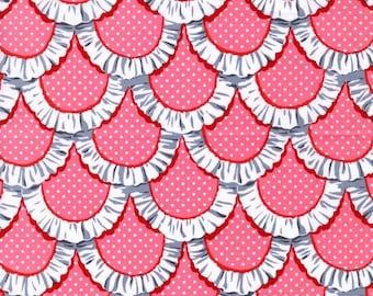 Apron Ruffle Pink 1 Yard Cut