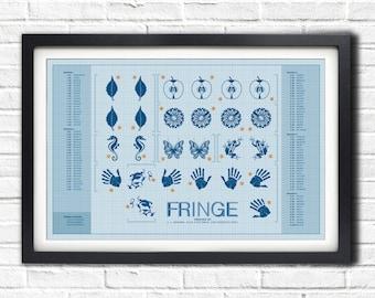 Fringe - Glyph poster - 19x13 Poster