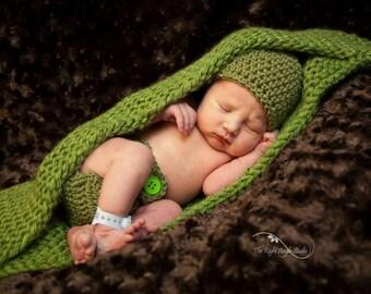 PeaPod cocoon Newborn Photography Prop