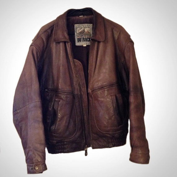 Indiana Jones Brown Leather New Zealand Outback Cooper
