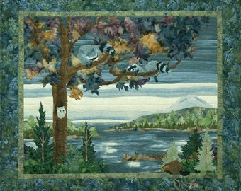 McKenna Ryan Quilt Pattern Lake Forest Double Trouble Raccoon Lake Quilting