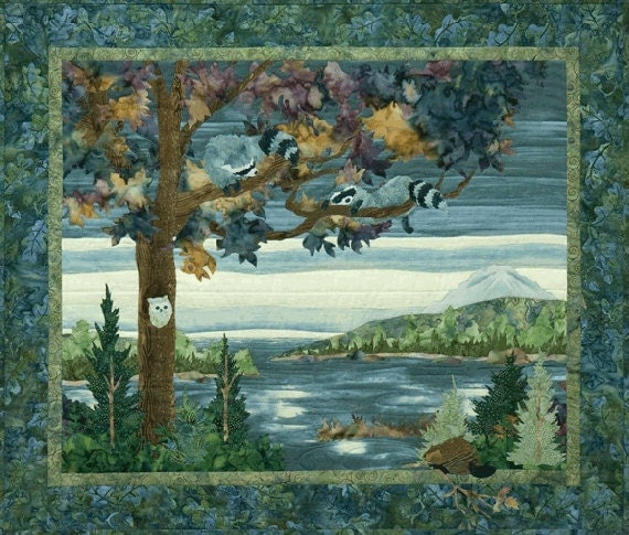Mckenna Ryan Quilt Pattern Lake Forest Double Trouble Raccoon