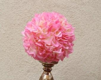 Pomanders Flower Balls - Pink flower balls - Pomanders Roses - Wedding - Home Decor - Birthdays