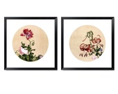Classic Chinese Painting Print Set With Frame (3)