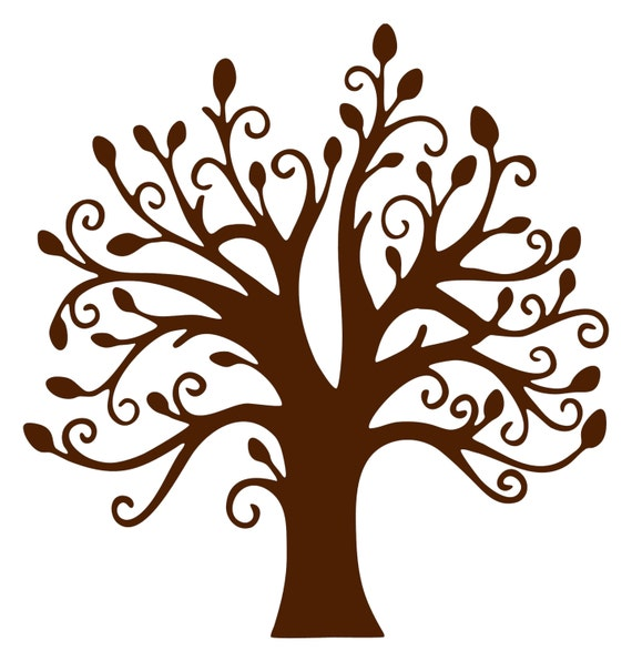 Brown Tree Without Leaves Clipart