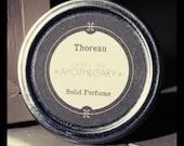 Thoreau Solid Perfume - Bamboo, Clary Sage, Sandalwood