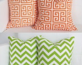 RESERVED Order  - Set of 4 Pillow Covers - 16x16