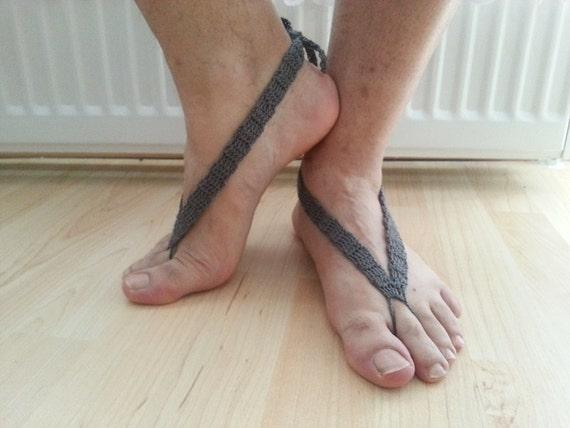Conosciuto Flip Flop uomini sandali a piedi nudi a piedi nudi sandali NA19