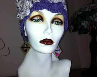 Have fun wearing this retro cotton cloche all year round