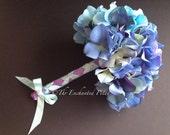 Beautiful Blues Hydrangea Bouquet