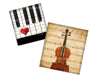 INSTANT DOWNLOAD-The Love Song - Printable 0.75 inch x 0.83 inch scrabble tile images for scrabble tiles resin pendants- Jpg File no. A312