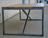 the SPIRE Coffee Table - Reclaimed Wood Coffee Table