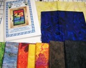 Sunset Silhouettes  Art Quilt Pattern Kit