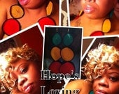 I LUV EVERYTHING RASTA Earring Collection