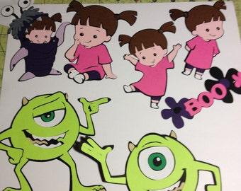 Monsters Inc. Die Cuts
