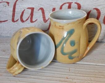 Handmade Mug, Pottery Mug, Coffee Mug, On sale!