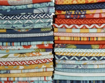 BasicGrey for Moda Fabrics PB & J Collection One 28 Piece Fat Quarter Yard Bundle