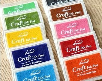 Craft Ink Pad Set - Stamp Ink Pad - Stamp Pad - 15 Pcs