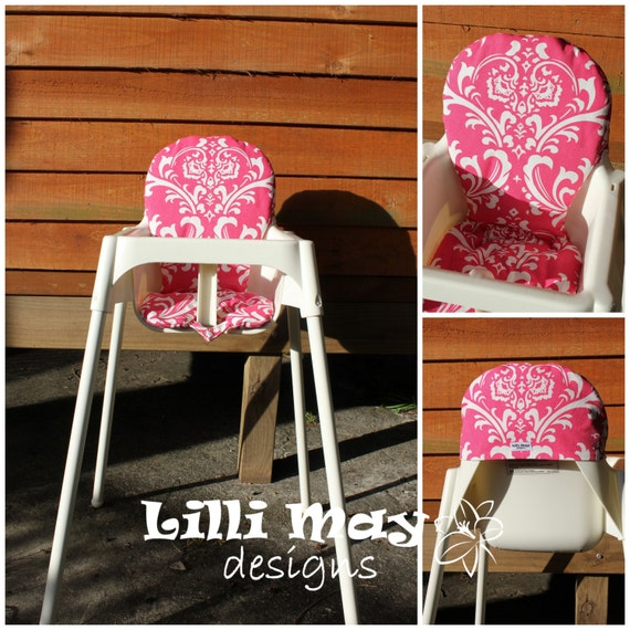 ikea high chair cover padded antilop high chair cover. Black Bedroom Furniture Sets. Home Design Ideas
