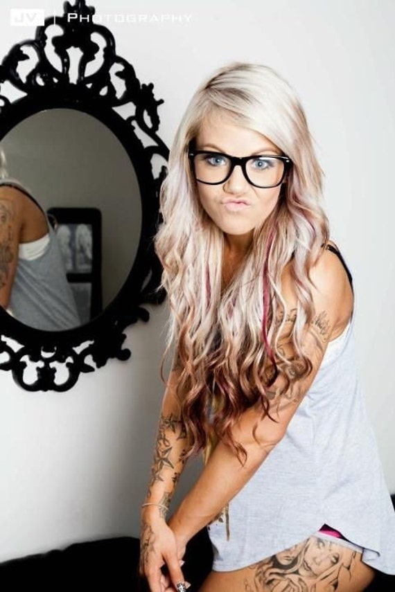 Items Similar To Colored Reverse Ombre Hair Extensions
