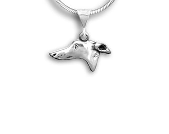 Sterling Silver Greyhound Pendant