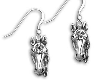 SS Facing Horse Earrings