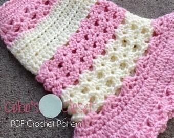 PDF Crochet Pattern- Littlest Bo Peep Dog Dress - INSTANT DOWNLOAD