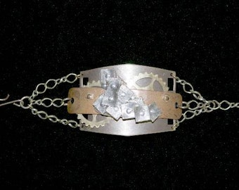 Heart Gears Stars Bracelet
