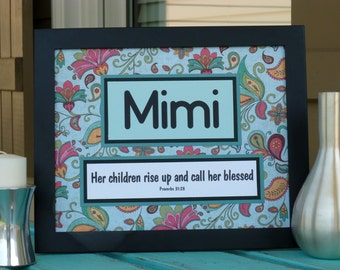 Mothers Day, scripture gift for Nana, Mimi, Grandma, Mom, Maw Maw Proverbs 31