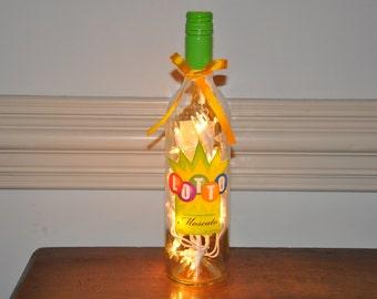 Lottery                                                          Lighted Glass Wine Bottle Lamp