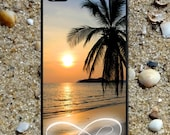 Iphone 6 case Infinity Love Beautiful Sunset Beach Iphone 4 case cool awesome Iphone 4s case