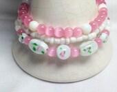 Pink Bracelet Stack