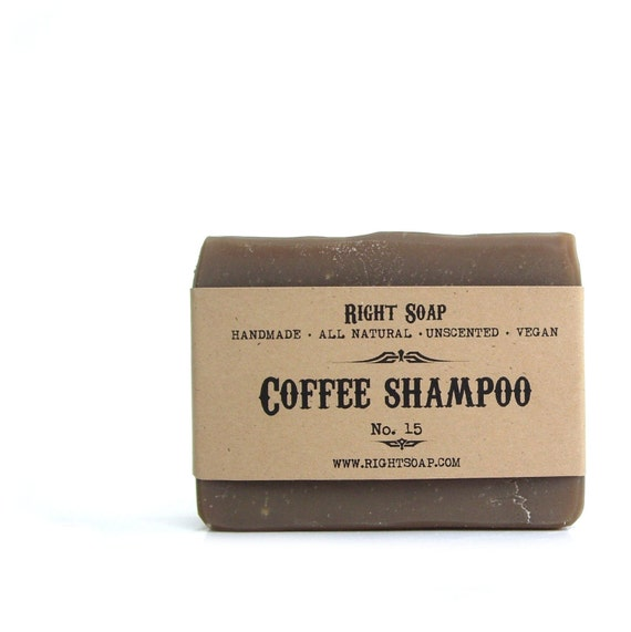 Coffee Shampoo Soap bar, Natural Shampoo, Christmas stocking, Christmas gifts, Stocking Stuffers