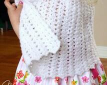 Crochet Pattern Communion Cape : Popular items for crochet child poncho on Etsy