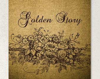 ETSY SHOP BANNERS Golden Story Etsy Shop Banner Set
