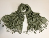 army-green pashmina scarf, army green pashmina shawl, army green fashion scarf, pashmina scarf, pashmina shawl, scarf, shawl