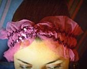 Purple Sequin  Headband