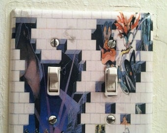 Pink Floyd The Wall Double Light Switch Cover