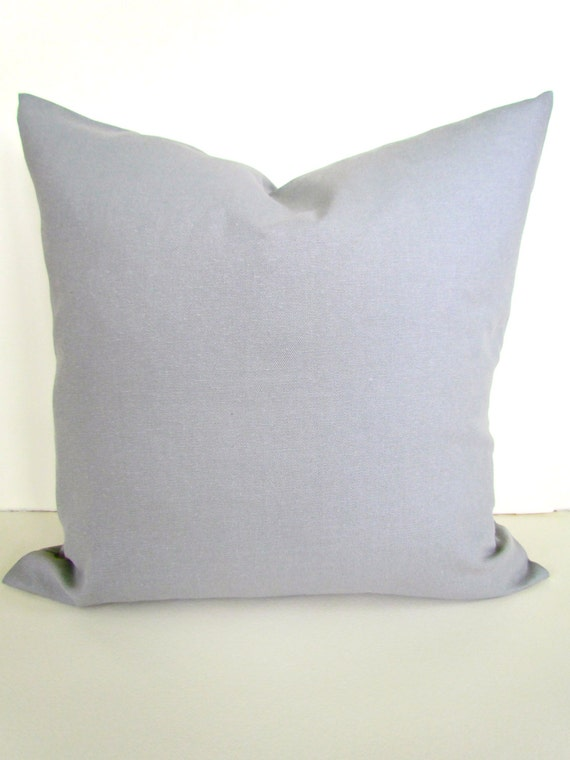 Gray Pillow Covers Throw Pillows Solid Grey Decorative Pillows