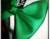 Bow Basics: Solid Emerald Green Hair Bow