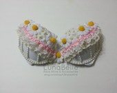 Daisy EDC Rave Bra // Lace // Pearls