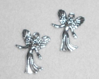 Silver Fairy Charms