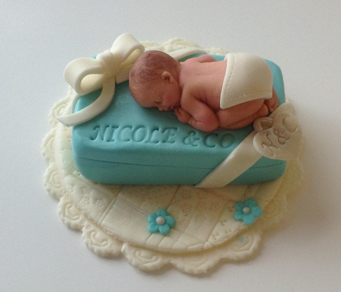 Tiffany Name Cake Topper