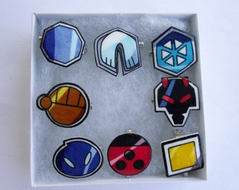 Pokemon Johto League Badges