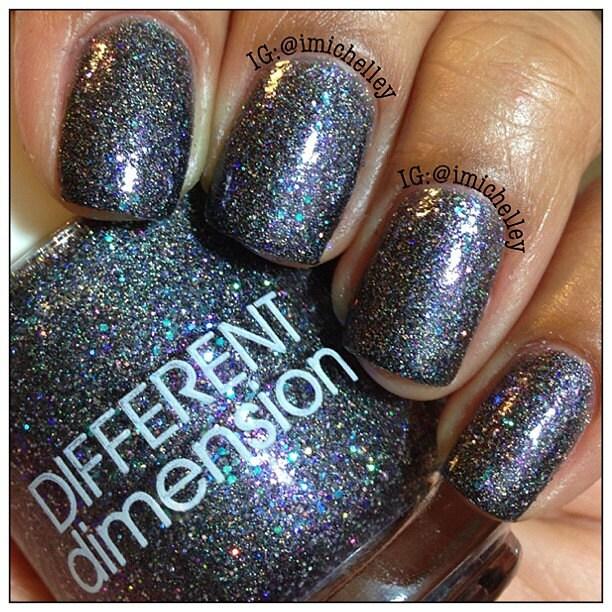 Black Dahlia Hand Mixed Nail Polish 15ml By DIFFERENTdimension