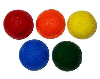 Recycled Soccer Ball Crayons - Set of 5