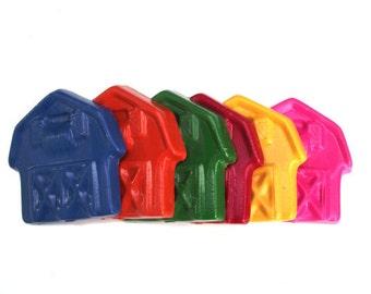 Barn Crayons -Set of 6