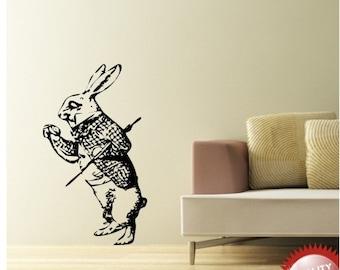 March Hare, Alice in Wondeland vinyl wall decal sticker