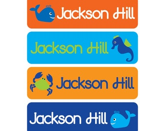 Baby bottle labels -  Waterproof and Dishwasher Safe - 4 Pre-made Designs